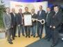 Auszeichnung der Marktgemeinde Paldau mit dem \'Goldener Boden\'-Zertifikat